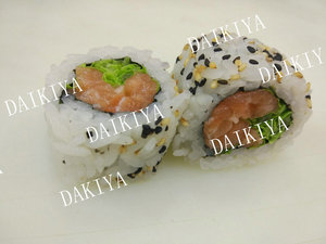 31. Spicy Salmon  Uramaki